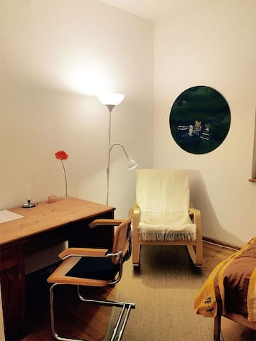 Guest-Room in shared flat & bicycle - Freiburg - Kondominium