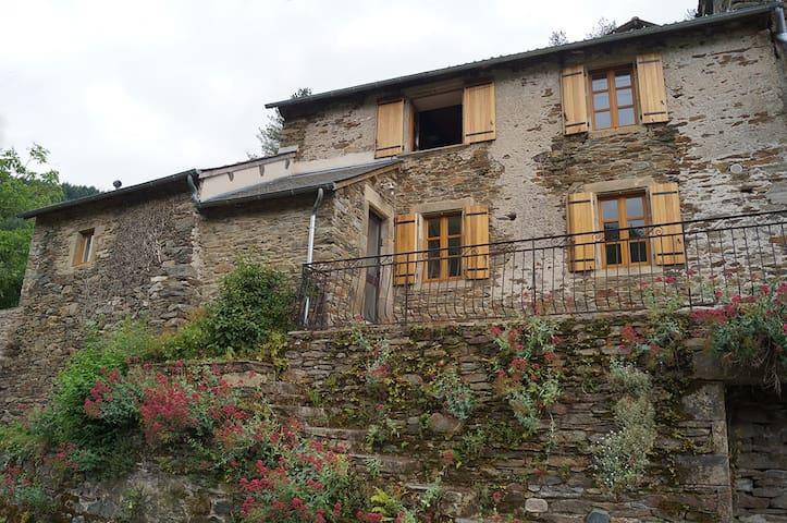 Maison de campagne rénovée au vert - Réquista - Casa