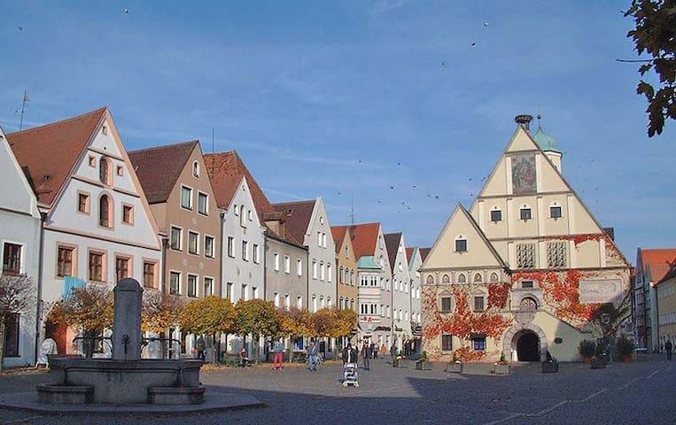 Gemütliche Wohnung mit Holzofen - Weiden in der Oberpfalz - Lägenhet