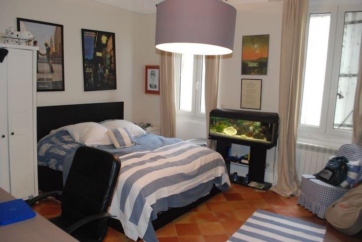 Bedroom in 18th. Century Montréal house. - Montréal