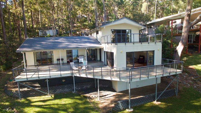 Brae Villa on Smiths Lake - Smiths Lake - Casa