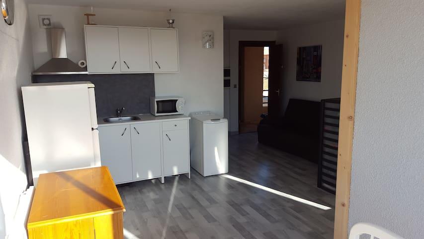 Appartement T2 sympa, calme, Parking privatif... - Valras-Plage