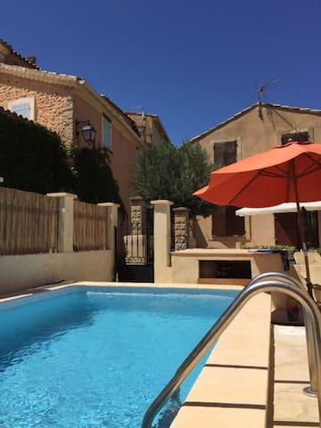 Maison en Provence avec piscine - Saint-Roman-de-Malegarde - Ev