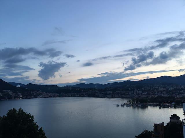 Stanza Lugano a 500 m dal lago - Lugano - Daire