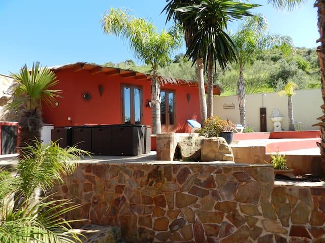 Lovely room in tropical garden - Álora - Bed & Breakfast