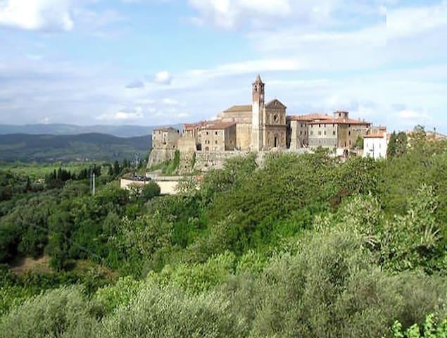 Vacanze in Toscana, Collina in Maremma - Caldana - Appartement