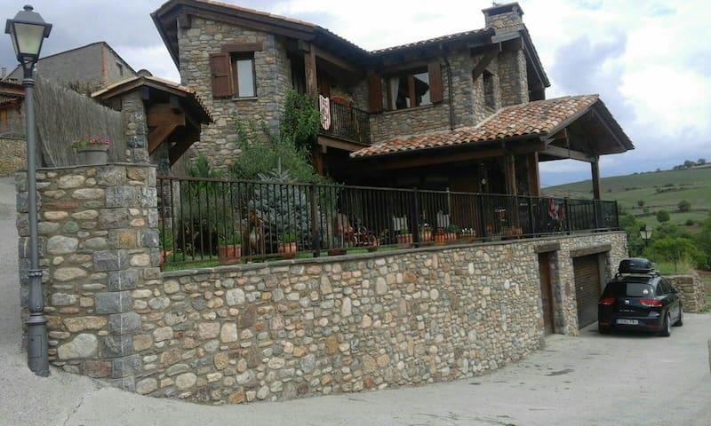 Casa rústica impresionantes vistas - montellà i martinet,lleida - Rumah