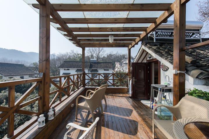 ★7号★二楼小窝-和杭州当地人一起居住在西湖美景中 - Hangzhou - Casa