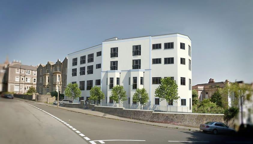 Modern Apartment with Stunning Sea View - Weston-super-Mare - Apartamento