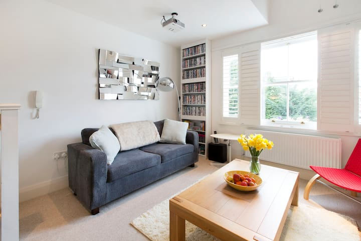 Sunny, contemporary flat in trendy East Oxford - Oxford