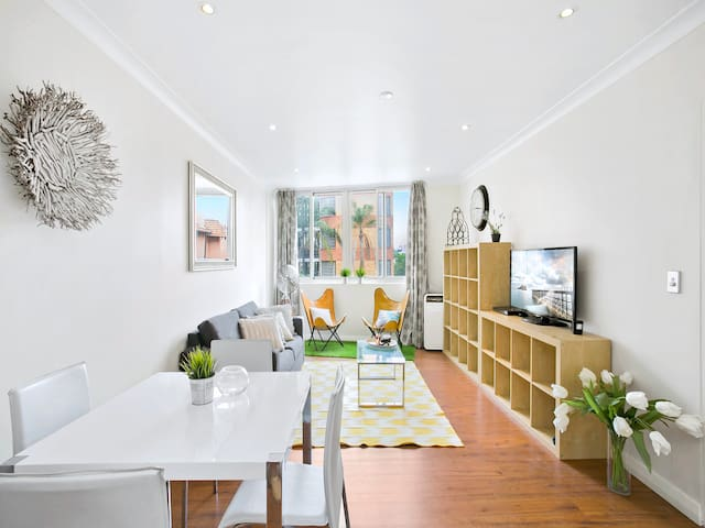 NEW YORK STYLE APARTMENT IN TRENDY POTTS POINT - Potts Point - Appartement