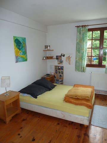 L'Atelier , chambres plein Sud dans une longère - Houppeville - 一軒家