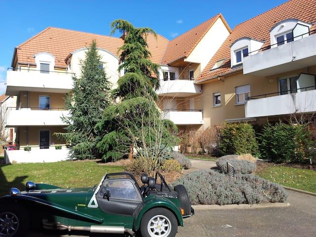 Voyager avec son bébé en Alsace  - Entzheim - Apartemen