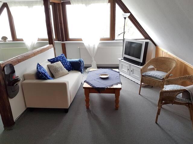 B & B Bärenstein , Bergstraße, Galeriezimmer - Bärenstein - Guest suite