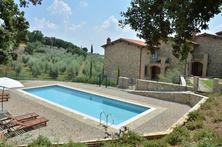 Casa in Residence con piscina - Siena - Casa de vacaciones