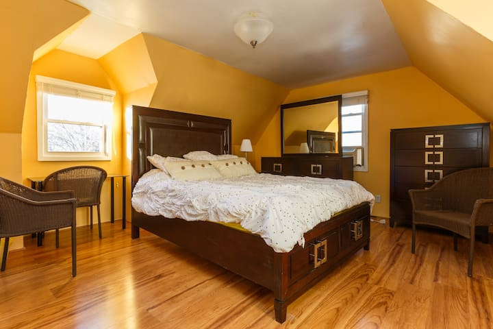 QUEEN SIZE BEDroom, NYC 4 miles de distance - Teaneck - Maison