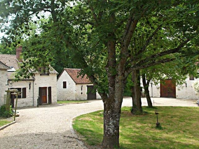 Ancien moulin, chambre avec SDB et entrée privées - Neuvy-sur-Loire - Hus