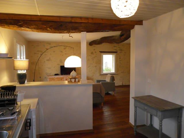 Peace and quiet in the Entre-Deux-Mers - Saint-Martin-de-Sescas - Huis