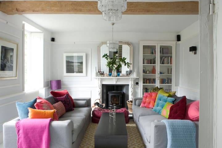 Eclectic & Sumptuous Old Vicarage - Wedmore - 一軒家