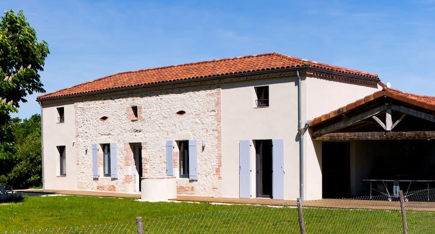 Gite Pech de Durand -  ferme du XIXeme restaurée - Villeneuve-sur-Lot - Alojamiento vacacional
