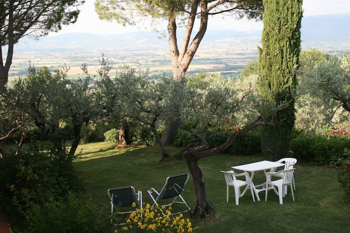 Attic of Luxury Villa with Pool close to Assisi - Bettona - Villa