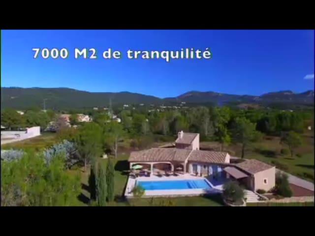 Villa de rêve au soleil du Languedoc - Laroque - Villa
