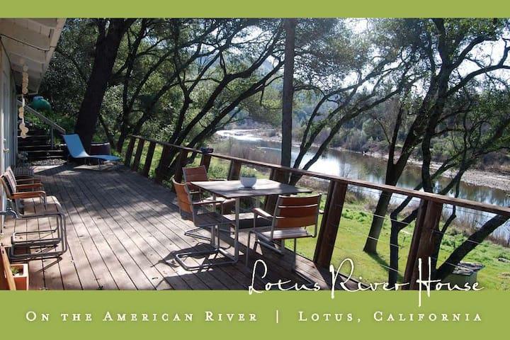 Riverside Home in Lotus / Coloma - Coloma