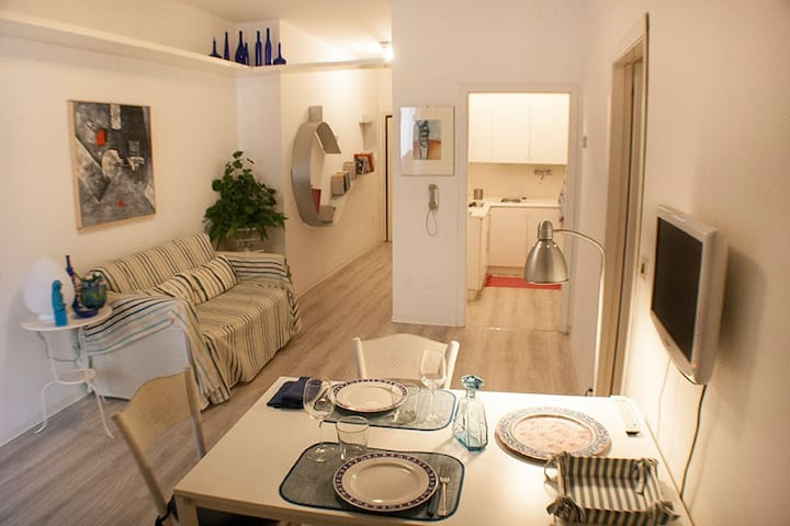 Grazioso appartamento tra Centro storico e il mare - Riccione - Lägenhet