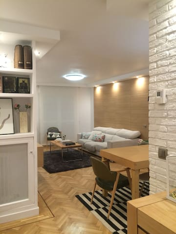 Habitación espaciosa y acogedora - サン·セバスティアン·デ·ロス·レイエス - アパート