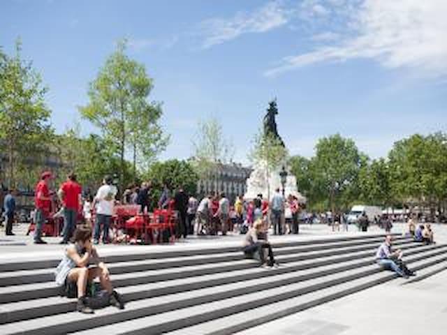 BEAU STUDIO AU COEUR DE PARIS LE MARAIS - Paris