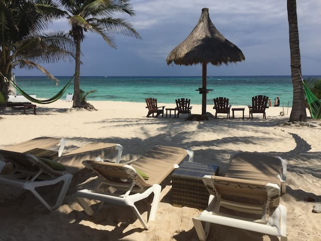 Caribbean Beachfront Apartment - Akumal - Apartamento