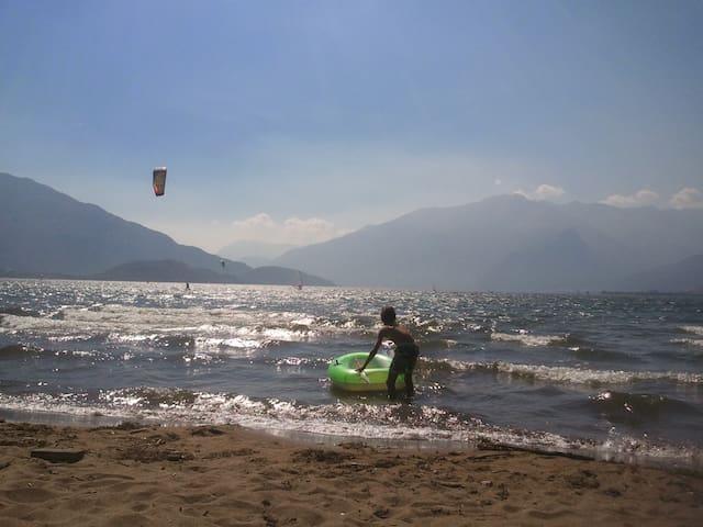 Bilocale a Sorico Lago di Como - Como - Daire