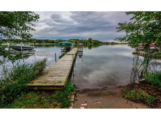 Lakefront Home on Fish Lake in Maple Grove, MN - Maple Grove - Rumah