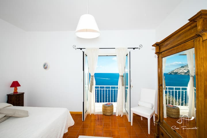 Double room with amazing sea view - Positano - Huis
