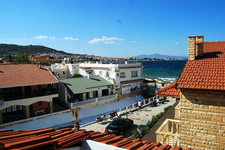 Roof floor in Yeni Foça! Perfect for your family - Foça - Loft
