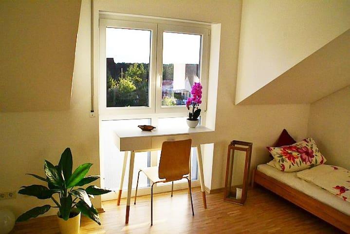 Südl.von Darmstadt,tolle Wohnung ruhig u.zentral - Seeheim-Jugenheim - อพาร์ทเมนท์