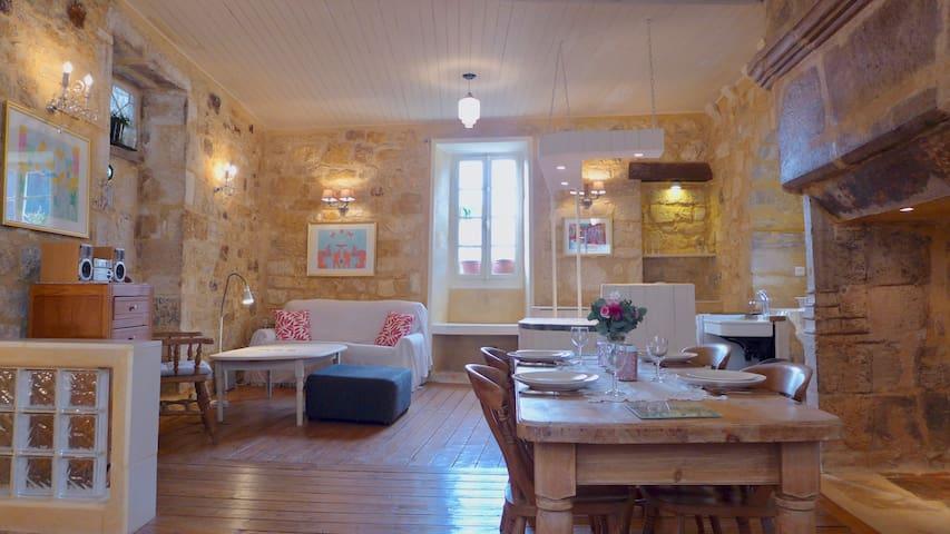 Designer Vintage House In Medieval St Cyprien. - Saint-Cyprien - Huis