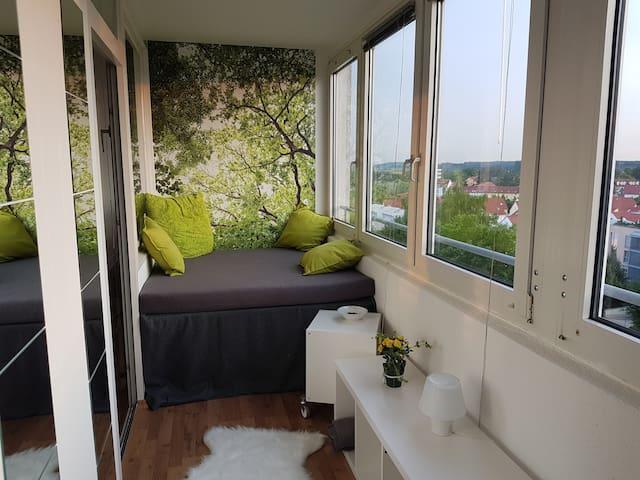 Citynah mit herrlichem Panoramablick - Markt Schwaben - Appartement