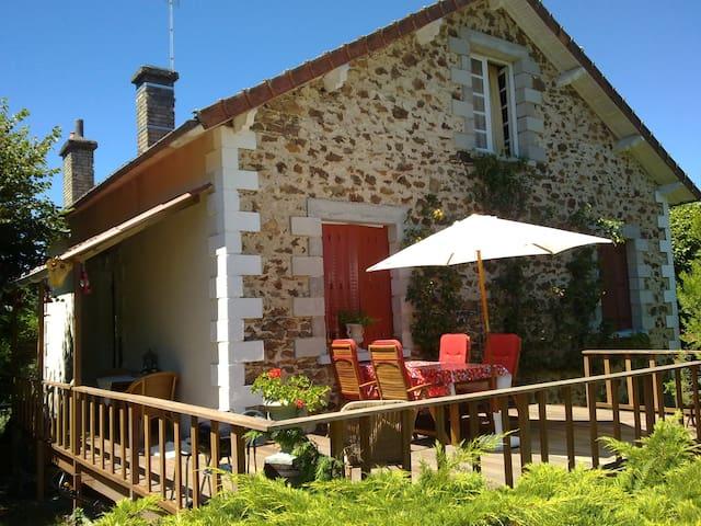La maison de vacance - Bujaleuf - Houten huisje