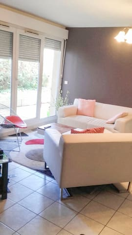 Appartement moderne au rez-de-chaussée à Brunoy - Brunoy - Appartement