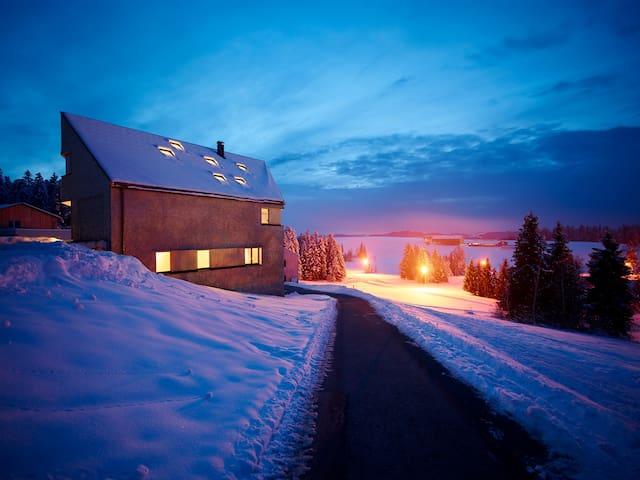 Ferienwohnung in modernem Holzhaus - 6934 Sulzberg