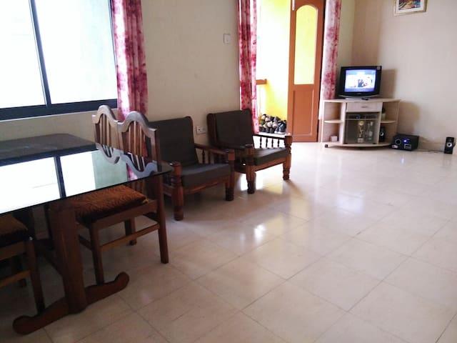 Cozy Rooms with Kitchen - Panjim - Lägenhet
