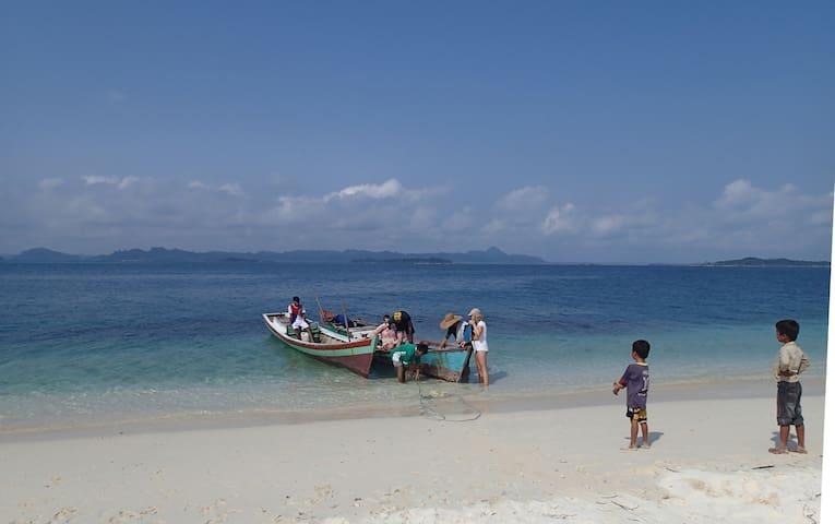 Hutte pour 1 couple, full pension - Banyak Island