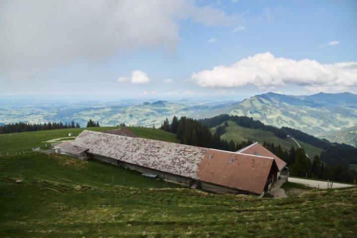 Alp Grosser Schwyberg - Schwarzsee - Bed & Breakfast