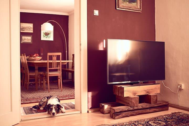 Wohnung im Stadtzentrum, liebevoll ausgestattet - Landshut - Apartament