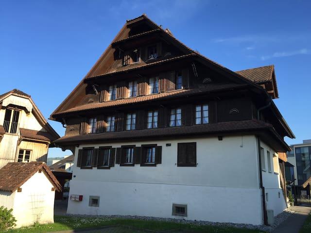 Old Swiss Farmerhouse Dream - Cham - Daire