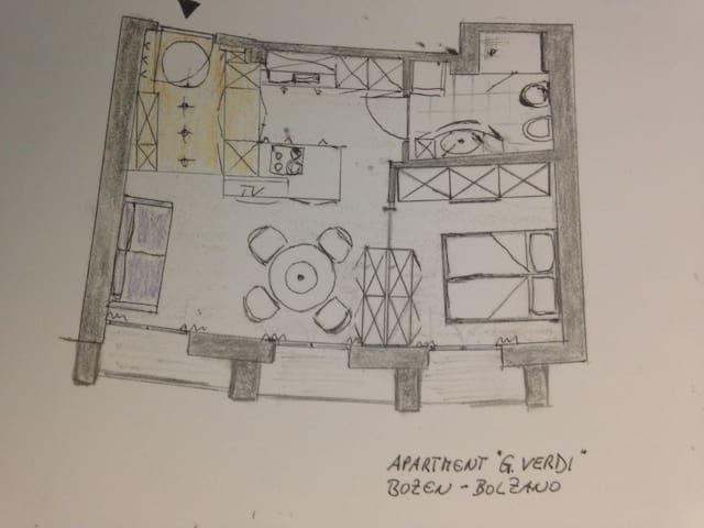 "Apartment ""G. Verdi"" - Bolzano"
