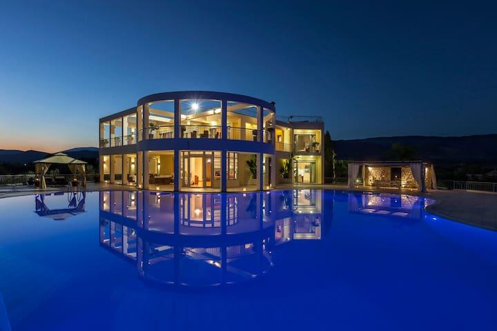 Magical Mediterranean Beach Estate - Thermisia - Villa
