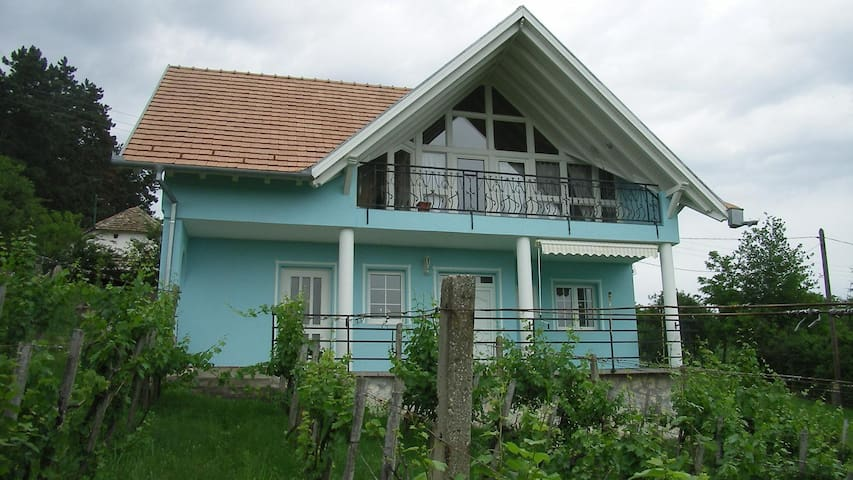 Te huur  vrijstaand huis met internet en airco - Szederkeny - Casa
