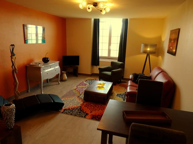 Appartement cosy entre Caen-Falaise - Bons-Tassilly - Daire